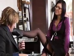 Dirty Secretary Satisfies Her Boss
