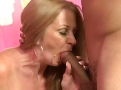 Horny Granny Get A Black One In her Cunt